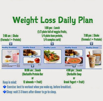 Herbalife Meal Plan For Weight Loss. | What is Herbalife