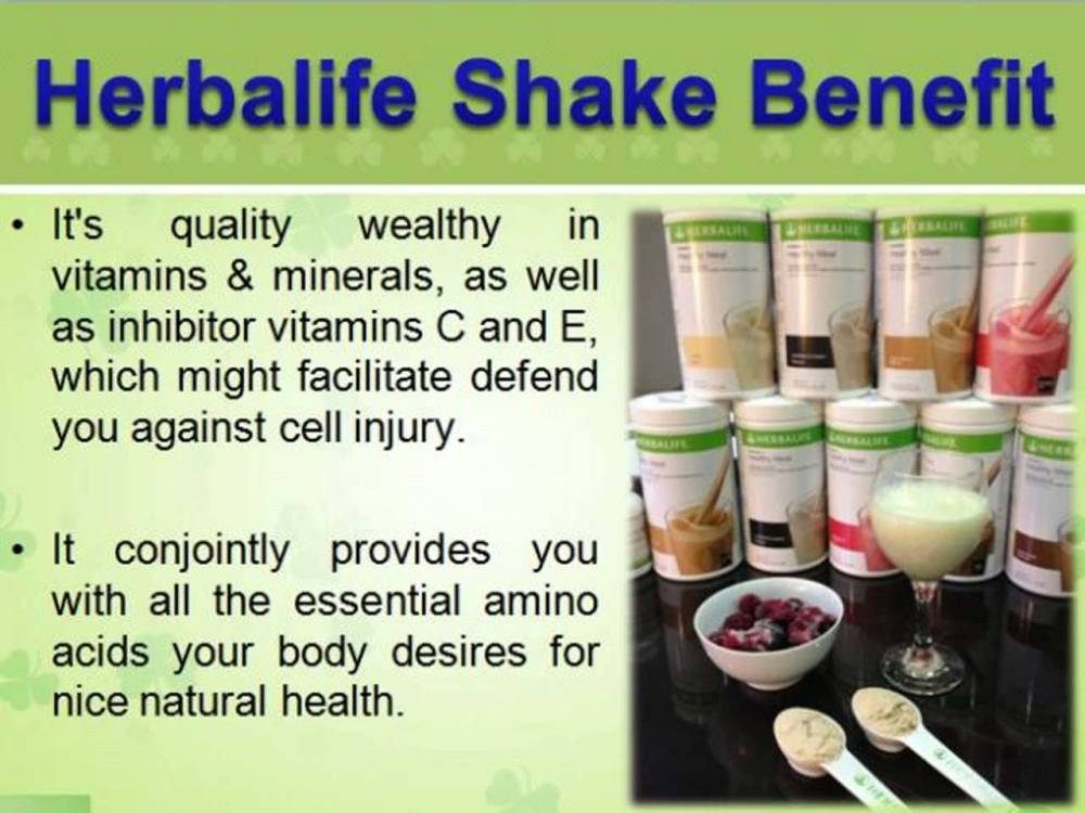 Herbalife Shake Recipes For Weight Loss | What is Herbalife